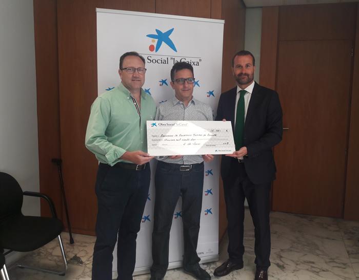 """Subvención de la Fundación Bancaria """"La Caixa"""""""