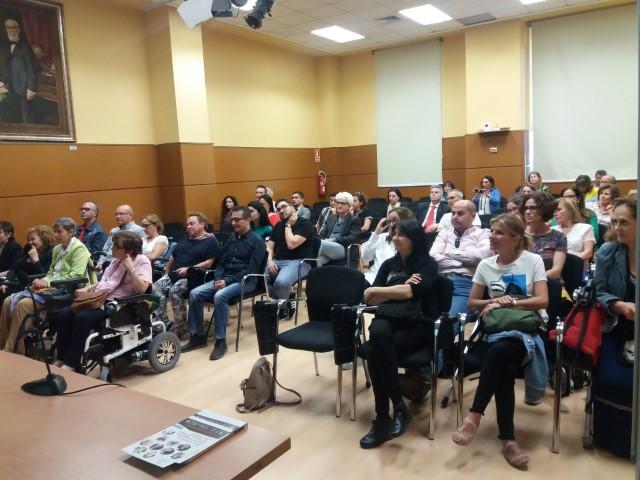 Jornadas sobre Esclerosis Múltiple , en la Universidad Permanente de Alicante.